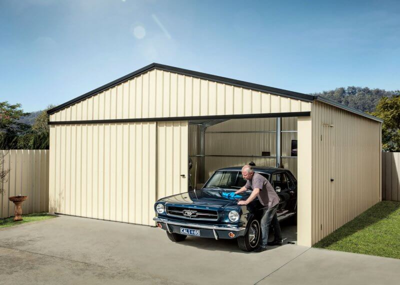 Garage Storage Shed Gable Domestic