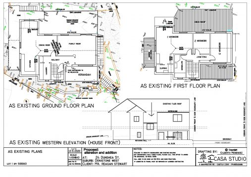 existing plans page