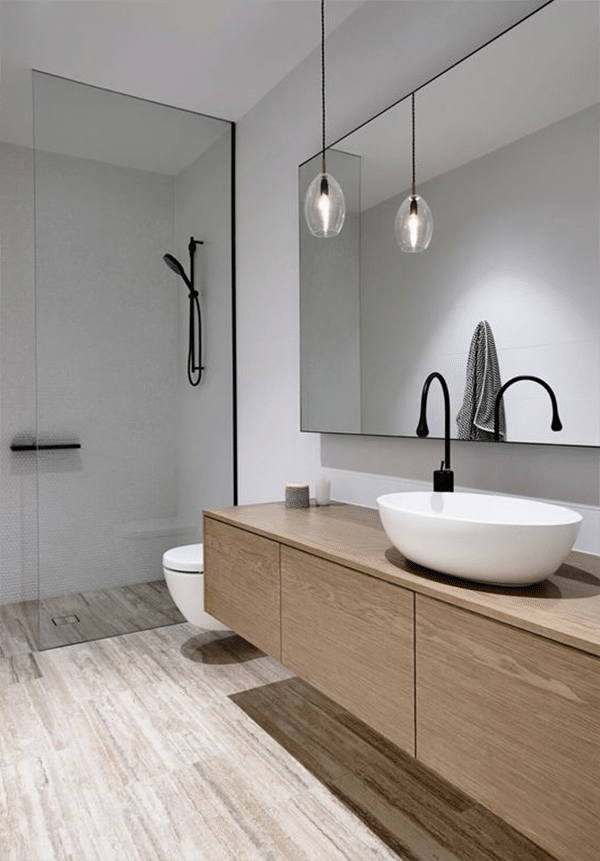 modern bathroom ensuite