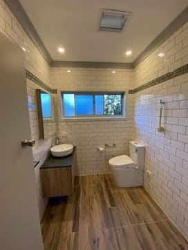 basin and toilet bathroom review