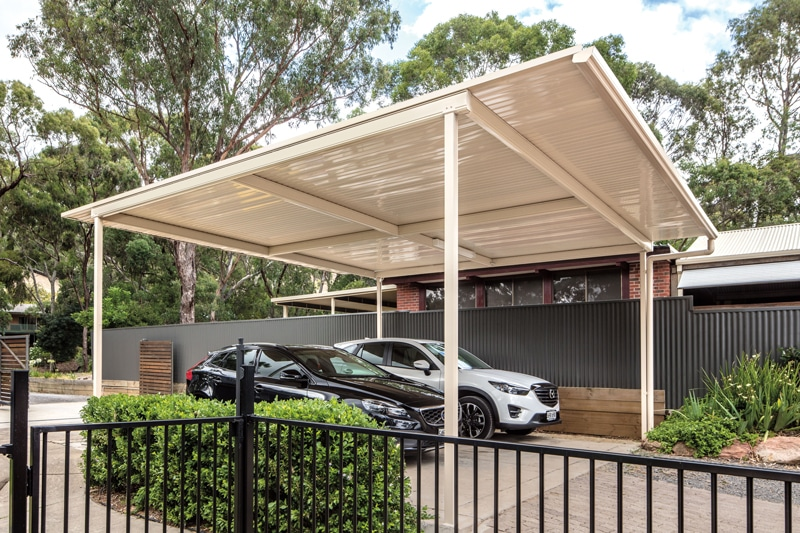 Outback Flat Freestanding Carport