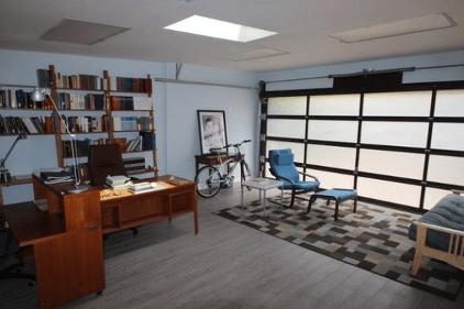 convert garage into study