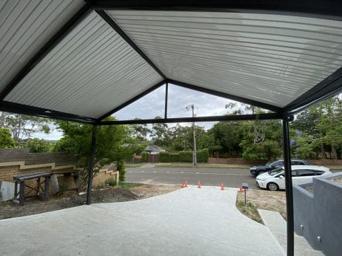 Gable-Style Carport